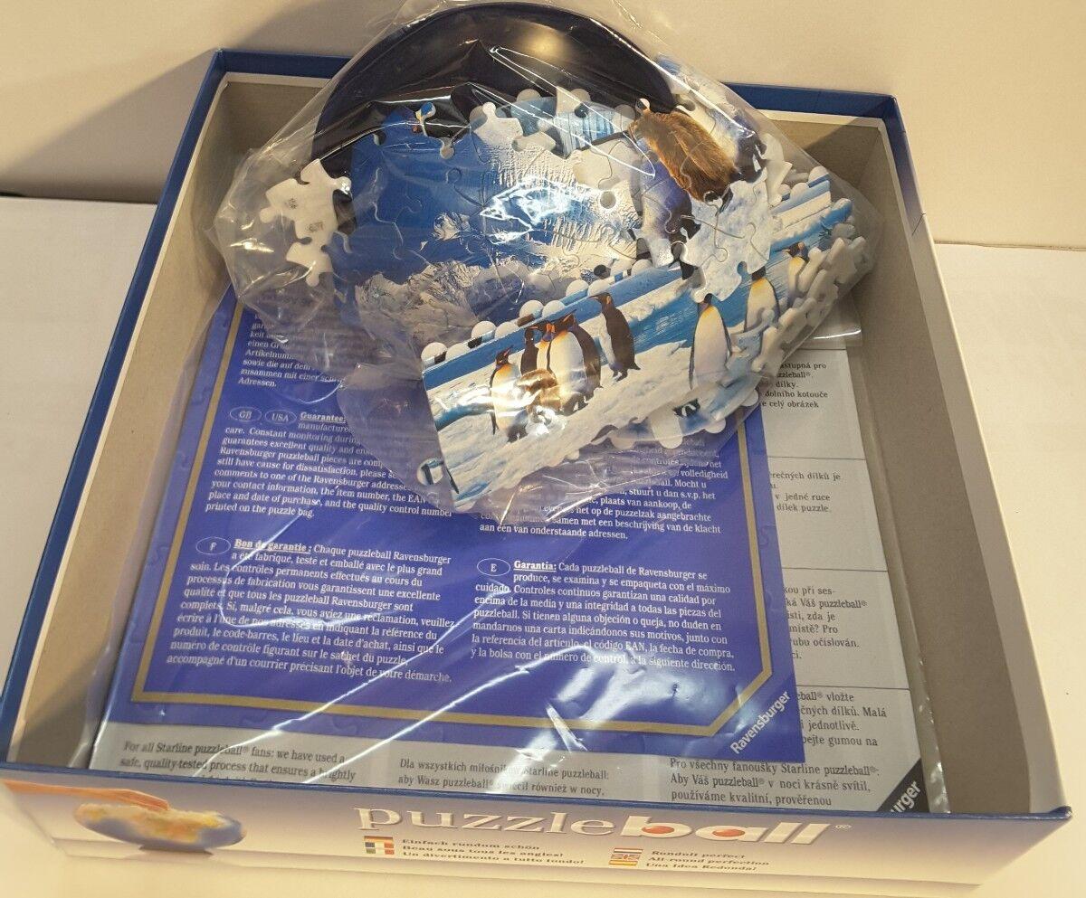 Ravensburger Puzzle: Puzzleball Penguins  15 cm /  6 inch  /   110063 e46c24