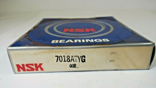 7018ATYG NSK 30° Angle Contact Bearing 90 mm Bore