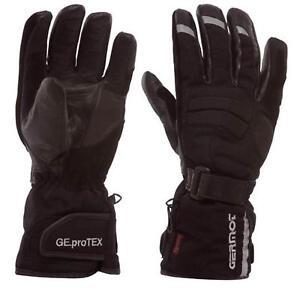 Germot-Dallas-Motorrad-Handschuhe-Schwarz-Winter-Wasserdicht-Atmungsaktiv