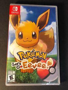 Pokemon-Let-039-s-Go-Eevee-Edition-Nintendo-Switch-NEW