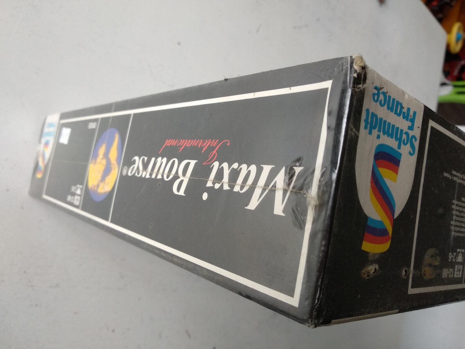Maxi Bourse Bourse Maxi Schmidt International 1987 COMPLET NEUF blister b4b1d1