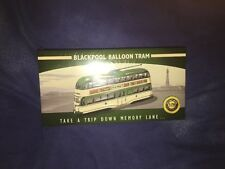 RARE ATLAS EDITIONS - 1/76 CLASSIC BLACKPOOL BALLOON TRAM MODEL BUS..
