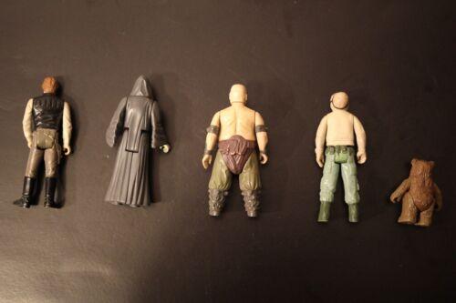 VINTAGE Star Wars-ORIGINALE Loose ACTION FIGURE KENNER 1977-1984 ANH Rotj ESB