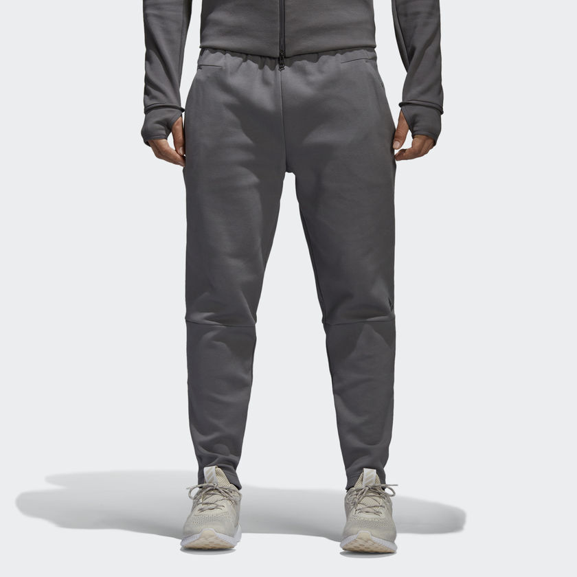 Adidas Z.N.E. Pants Men New Mens Grey CG2176
