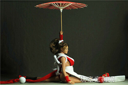 "Custom 1//6 Red Women/'s Paper Umbrella For 12/"" Japanese geisha Female Figure Body"