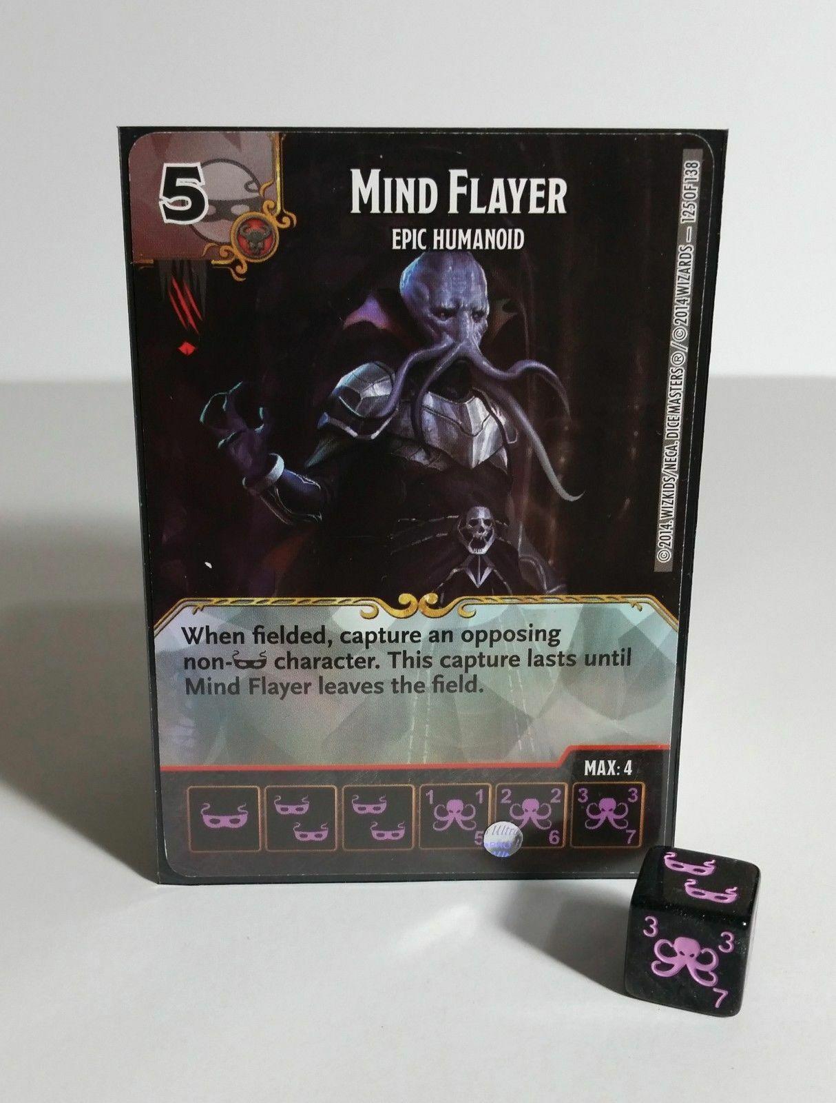 Mind Flayer Super Rare Epic Humanoid Battle for Faerun Dice Masters D&D