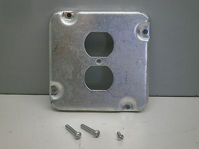 "1//2/"" Raised Duplex Receptacle 1.406 Industrial Surface Cover Set of 2"