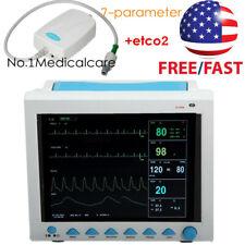 Fda Capnograph Icu Patient Monitor Multi Parameter Etco2 Sidestream Usa Fedex