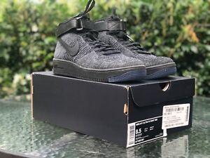 1adf80ca6fb2f Nike Air Force 1 AF1 Ultra Flyknit Mid (Dark Grey/Black) Size US 8.5 ...