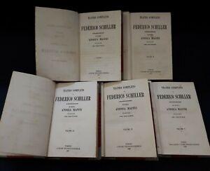 Teatro-Completo-di-Federico-Schiller-Traduzione-del-Cav-Maffei-1857-8-5-vol