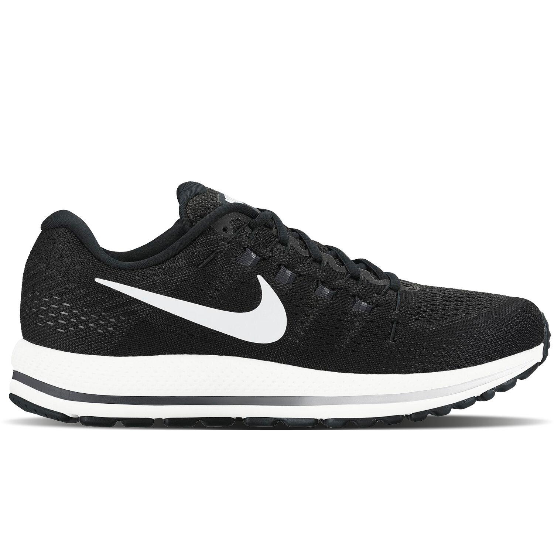 Nike 2017 Men's Air Zoom Vomero 12 Black White 863762-001 Sz 8 10