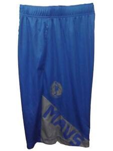 New Dallas Mavericks Mens Sizes S-M-L-XL-2XL Blue TX3COOL NBA Shorts