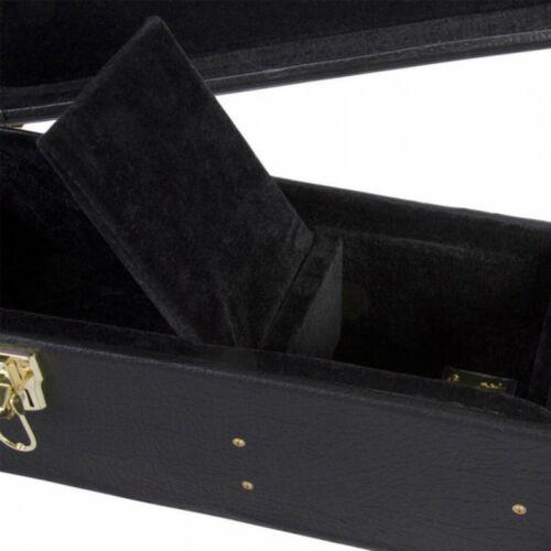 Black GCA5500B On-Stage Hardshell Semi Acoustic Guitar Case
