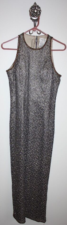 ADRIANNA PAPELL EVENING GOWN SIZE 10P