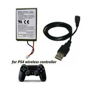 2000mAh-Rechargeable-Battery-Charger-Cable-Replace-For-PS4-Wireless-Controller