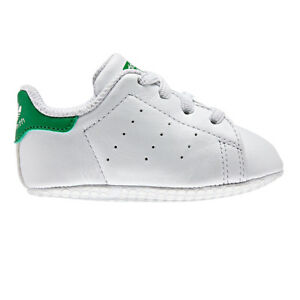 separation shoes ed21a 6ee37 adidas Baby Shoes Stan Smith Crib B24101 White 18
