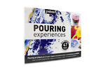 Pebeo Acrylic Pouring Experiences Complete Kit 47pc Set with Paint, Silicone Oil