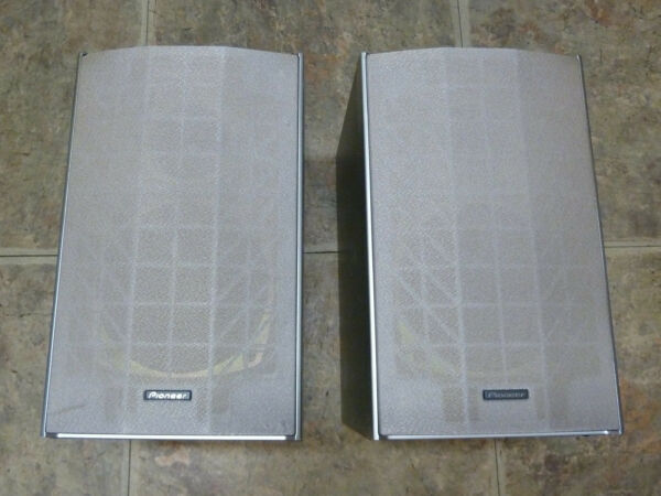 2 Pioneer Speakers 115w S-htd520 Front Bookshelf Theater System Htd520dv Tested Uitstekende Eigenschappen
