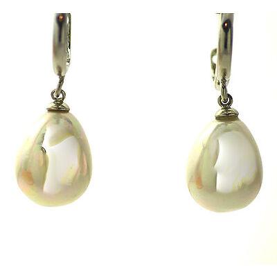 Pendientes perla lágrima libres de níquel y plomo CALIDAD ENVÍO ESPAÑA Ref. 39