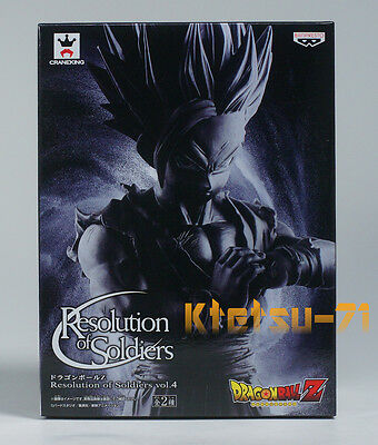 Dragonball Z Resolution of Soldiers Vol.4 SS GOHAN Figure Special Black color