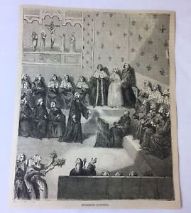 1877-magazine-engraving-INNOCENCE-JUSTIFIED-in-religious-Christian-court
