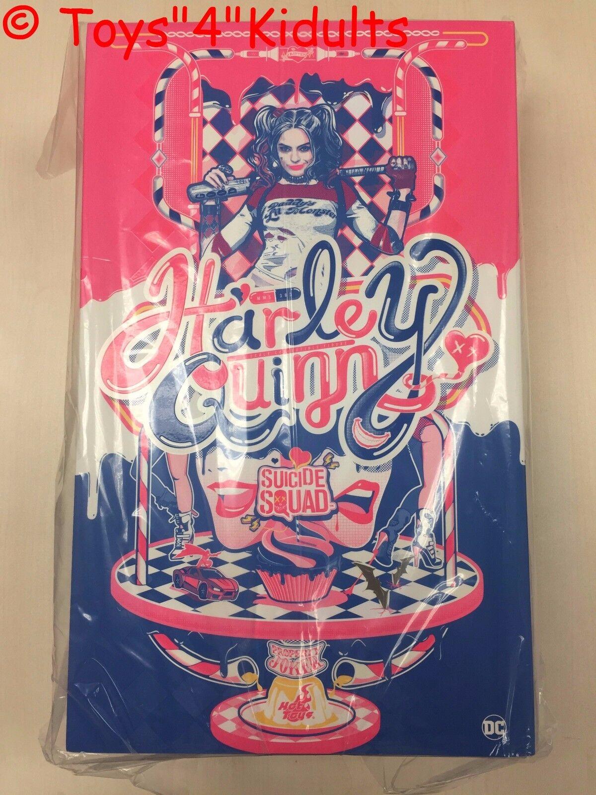 Hot Toys MMS 383 suicidio escuadrón Harley Quinn Margot Robbie versión normal