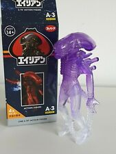 "Lot of 3 Reaction Super7 Alien A-2 Blind Series 3.75/"" Xenomorph Action Figures"