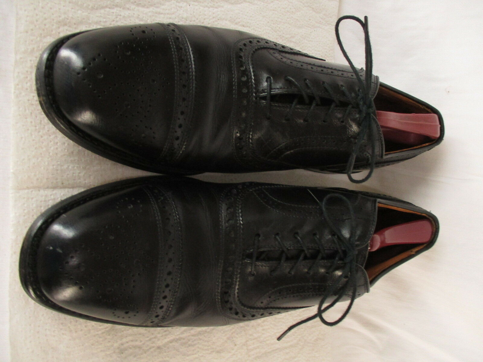 Zapatos de vestir Allen Edmonds para hombre Negro captoe Oxford 11.5C