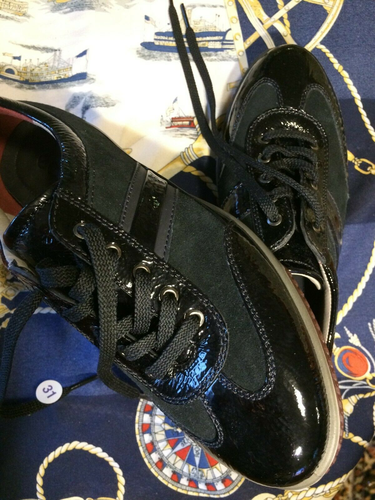 Gr. 39 ECCO neu Damen Schuhe Freizeit echtes Leder schwarz hochwertig neu S3