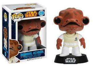 NEW-NIB-FUNKO-POP-MOVIES-STAR-WARS-28-ADMIRAL-ACKBAR-VAULTED-1-SHIPPING