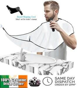 Mens-Facial-Hair-Beard-Apron-Cape-Shave-Bib-Trimming-Catcher-Beard-Comb-Trim