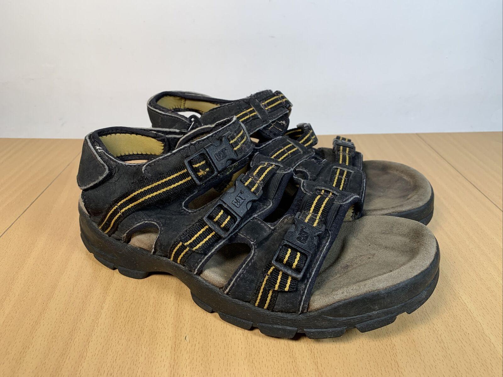 Caterpillar CAT Mens Wide Fit Adjustable Sports Walking Sandals Size UK 7 EUR 41