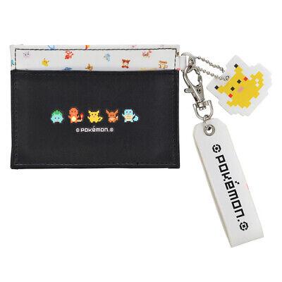Pokemon Center Dot Pixel Pokemon Card Pass Case ID Pikachu Eevee Bulbasaur