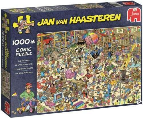Jumbo Jan Van Haasteren 1000 Peice Comic Jigsaw Puzzle /'The Toy Shop/' Jumbo