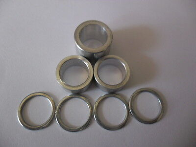 Bike Trike rear Axle pedal  Washer spacer shim set ID 15mm many choices