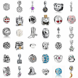 European-925-Silver-Charms-Beads-Pendant-Fit-Sterling-Bracelet-Necklace-Chain