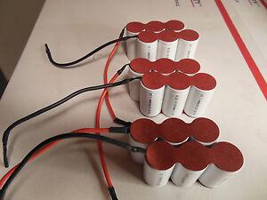 swiffer battery 3 quantity 7 2 volt 6 cell packs fs 4000 model ebay