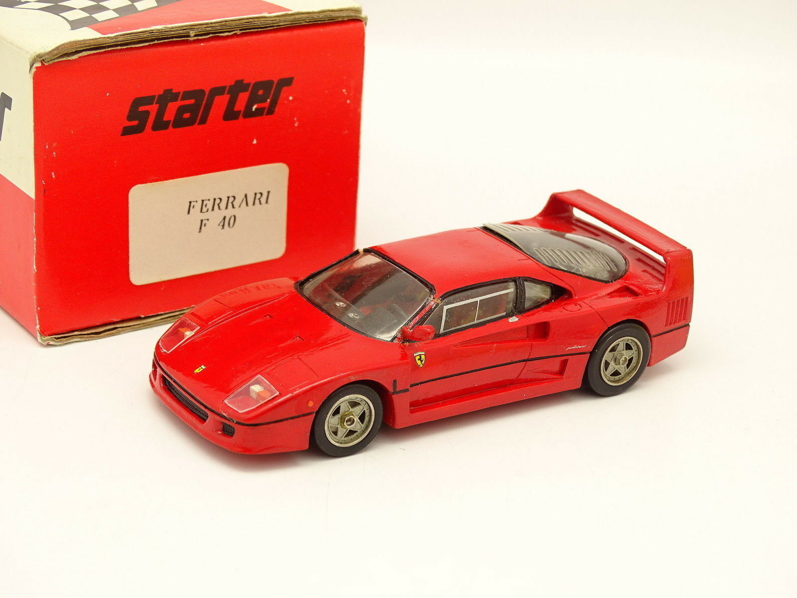 Starter Kit Rosso Montato 1 43 - Ferrari F40 Rosso Kit 6fa579