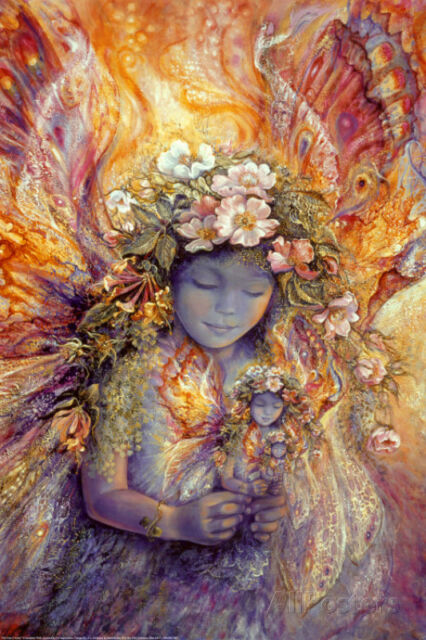 The Fairy's Fairy Poster Print by Josephine Wall, 24x36