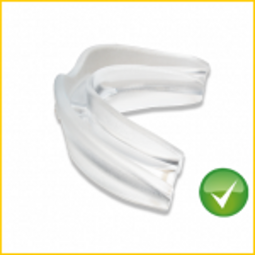 Stop Snoring Anti Snore mouthpiece mouth guard bruxism sleep apnea 2 for 1