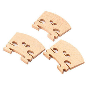 3PCS-4-4-Full-Size-Violin-Fiddle-Bridge-Maple-v
