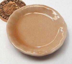 1:12 Scale Single Rose Saumon En Céramique Assiette De Service 3.5 Cm Tumdee Maison De Poupées Sp3-afficher Le Titre D'origine Cu4gu4bd-07160021-821997121