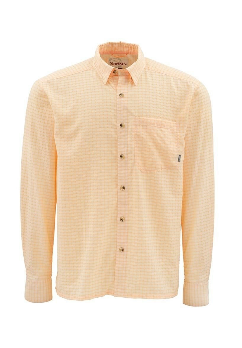Simms MORADA Long Sleeve Shirt  Apricot NEW  Closeout Size 2XL