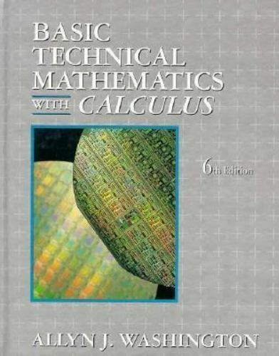 Basic Technical Mathematics With Calculus-ExLibrary