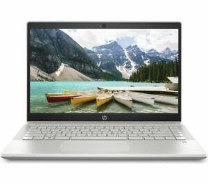 "HP Pavilion 14-ce0525sa 14"" Laptop Intel Pentium Gold 128GB SSD Silver - Currys"