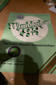 VINTAGE WIMBLEDON TENNIS  PROGRAMMES  1983 McENROE LENDL ETC - <span itemprop=availableAtOrFrom>Uxbridge, United Kingdom</span> - Sorry no returns on second hand items or CD's. Most purchases from business sellers are protected by the Consumer Contract Regulations 2013 which give you the right to cancel the purchas - Uxbridge, United Kingdom