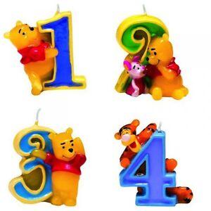 Zahlenkerze winnie puuh kindergeburtstag kerze kuchenkerze geburtstag pooh ebay - Winnie pooh deko ...