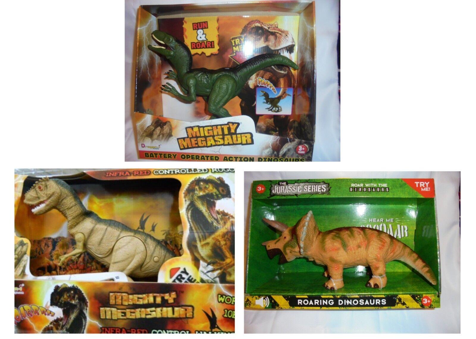 Arten von dinosaurier - batteriebetriebene spielzeug zu brllen leuchten die augen weihnachts - geschenk