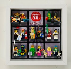Display-Frame-Case-for-Lego-Series-20-minifigures-CMF-71027-no-figures