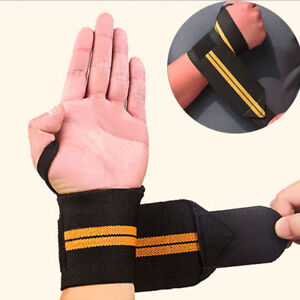 Weight-Wrist-Wraps-Weight-Lifting-Training-Gym-Straps-Support-Grip-Gloves